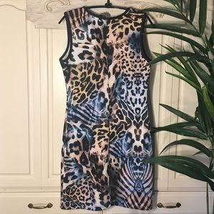 Cocoom Dresses - Cocoon Animal Print Sleeveless Dress Sz L